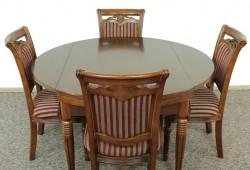 138x90x78 cm a ak je rostahnuty priemer ma 138 cnn--cena 580  eur (cena je za stol)