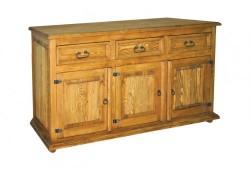 Celomasívny nábytok Kosice KOM-1-85x167x56-420 EUR