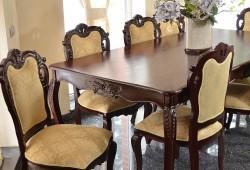 nabytok KéMPLET--1 (3)--stol-220cm+8xstolicka--2550 eur