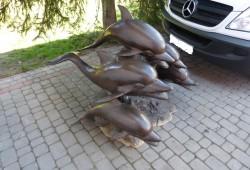 nabytok sochy fontany bronz 110x130x130-4200EUR
