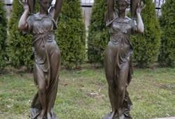 nabytok sochy fontany bronz 113x24---3400 EUR (cena je za 2 kucy) (1)