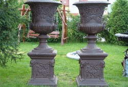 nabytok sochy fontany bronz 200x67x67cm. 450kg(1) 4300 ZA 2kusy