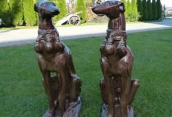 nabytok sochy fontany bronz V-65cm, CENA ZA DVA ---550 EUR (1)