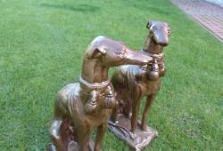 nabytok sochy fontany bronz V-65cm, CENA ZA DVA ---550 EUR (4)